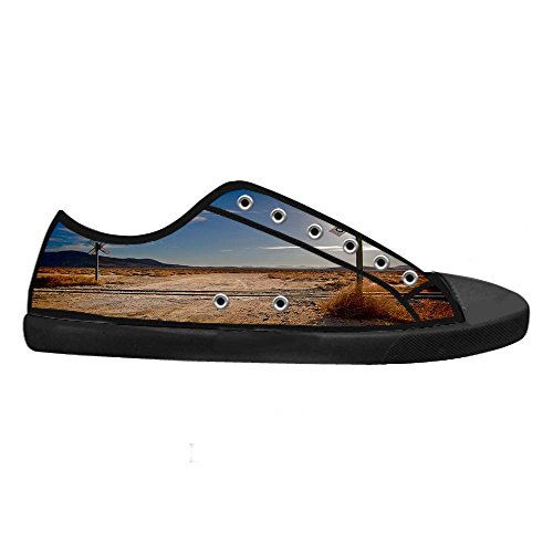 Dalliy sch?ne w¨¹stenlandschaft Womens Canvas shoes Schuhe Lace-up High-top Footwear Sneakers