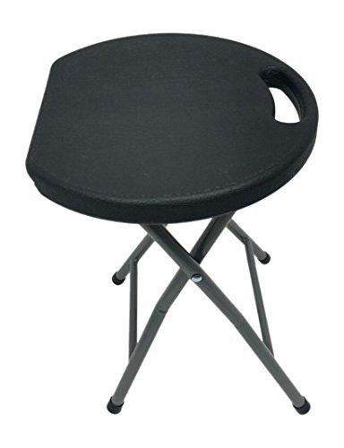 Heavy Duty - Light Weight- Metal and Plastic Folding Stool - 400lb (400 Metal Furniture)