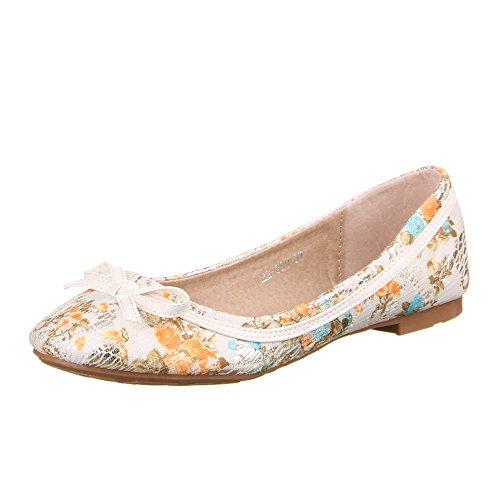 Ital-Design - zapatilla baja Mujer Varios Colores - Beige Multi