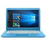 "HP- Laptop 14-CB011WM Celeron N3060 14"" 4GB SSD 32GB Azul 5LH92UA (Certified Refurbished/Reacondicionado)"