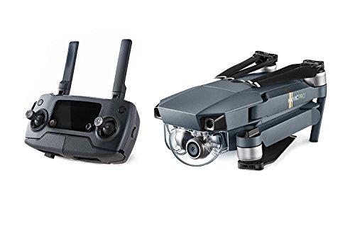 DJI-Mavic-Pro-STARTERS-Bundle-with-Shoulder-Bag-Props-Car-Charger-and-2-Extra-Batteries-16GB-and-32GB-MicroSD-Memory-Card-DIGITAL-AND-MORE-Lens-Cleaning-Cloth