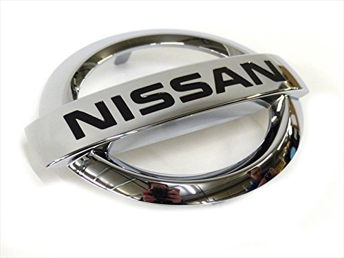 2013-2015 Nissan Versa Note Front Chrome Grille Emblem OEM NEW (Nissan Note Parts compare prices)