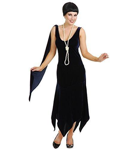 Sandy Speak Easy Flapper Adult Costume Black - Plus Size -