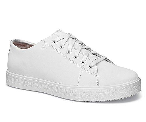 Schuhe für Crews 33870gefertigt–�?4/9,5Stil OLD SCHOOL Low Rider III Herren Rutschfeste Trainer, Größe 9,5, weiß