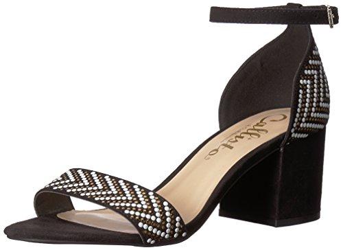 Callisto Women's Mercer Heeled Sandal Black Sd Cv8DSpvip