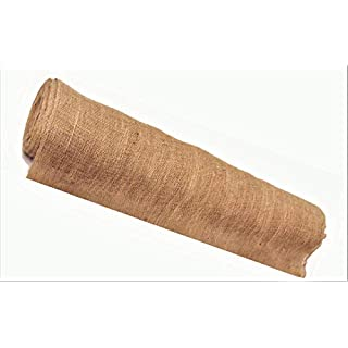 """AAYU 36"""" × 16-Yards Burlap Fabric Eco-Friendly and Disposable Jute Planter Liner 
