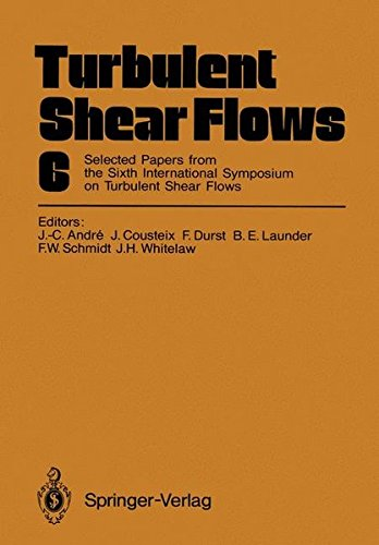 Turbulent Shear Flows 6: Selected Papers from the Sixth International Symposium on Turbulent Shear Flows, Université Pau