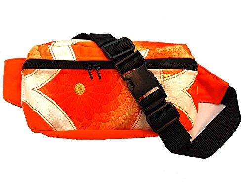 Japanese Waist Packs Bag of Kimono by YUMIE by YUMIE
