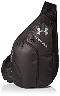 buy popular 01733 572a4 Under Armour Compel Sling Backpack, Black (001) Steel, One Size  (B00HWCOS66)   Amazon price tracker   tracking, Amazon price history  charts, Amazon price ...