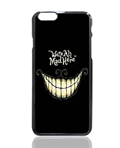 Alice In Wonderland - We Are All Mad Here Image Design Hard Back Case cover skin for Apple Iphone 6 4.7