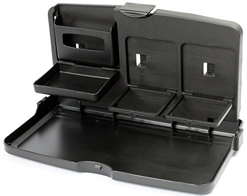 Hawk Fold Down Plastic Snack Tray for Back Set of ()
