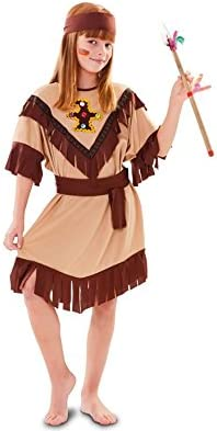 Disfraz de India con tótem para niña: Amazon.es: Juguetes y juegos