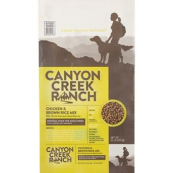Canyon Creek Ranch Natural Chicken and Brown Rice Dry Dog Food, 24 lbs., My Pet Supplies