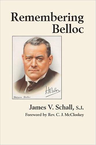 Image result for james v schall hilaire belloc