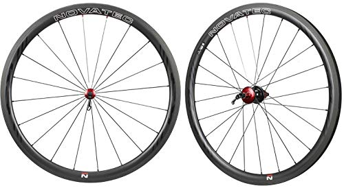 Nova NOVATEC Road R3 Clincher Carbon Wheelset for Shimano SRAM Campy 8-11s 38mm