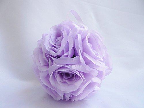 Artificial Silk Kissing Flower Ball Bouquet Wedding (light green) - 2