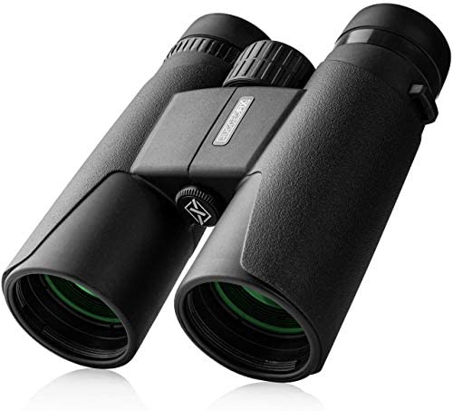 RUGGEDFIX Binoculars for Adults – Compact Lightweight, Powerful 10×42 FMC Lenses with Low Light Vision for Hunting, Bird Watching, Sports, Travel
