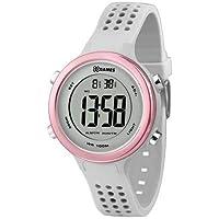 Relógio Xgames Feminino Digital Xfppd068 Bxix Cinza Rosa