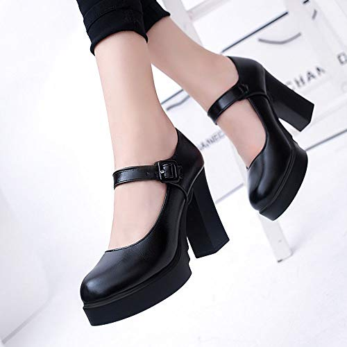 Per nbsp;office Leather Heels 37 Dress Shoes Alti Pumps Donna Tacchi High Uengf Pompe 4qgBvwAxq