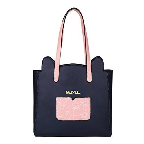 personalidad A de animados del la femenino LEODIKA bolso capacidad dibujos de manera de de gran bolso Hombro madre bolso bolso la del 16WpYq