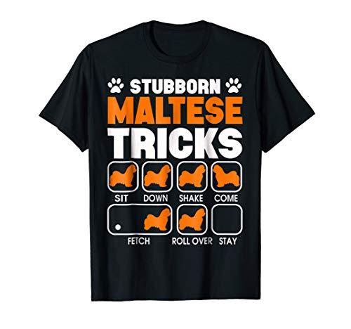Stubborn Maltese Tricks T - Womens Maltese