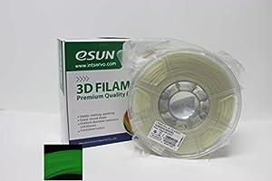 eSUN 1.75mm PLA PRO (PLA+) 3D Printer Filament 1KG Spool (2.2lbs), 19 Colors to Choose (Luminous Green) from ESUN