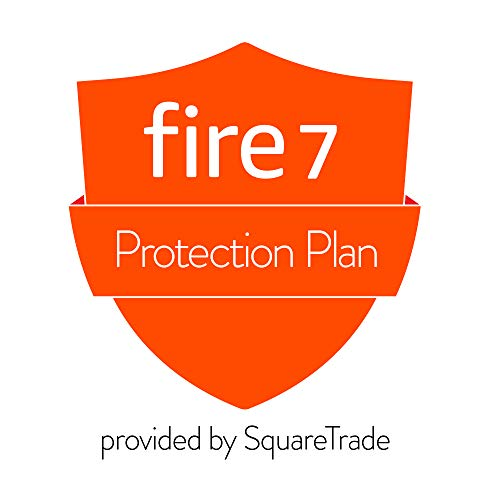 3-Year Accident Protection Plan for Fire 7 Tablet (2019 release, delivered via e-mail) (Best Tablet Extended Warranty)