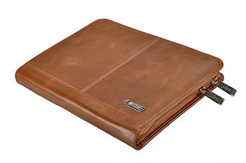 Designer Leather Organizer Padfolio for 10.5 inch iPad Pr...