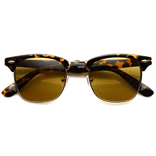 MLC Eyewear Retro Horn Rimmed Half Frame Vintage Fashion - Glasses Sun Tomford