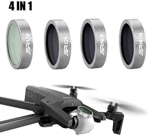 Accessories MuqGew Parts 4PC UV CPL ND8 ND16 Lens Filter for Parrot ANAFI Drone Gimbal Camera Lens Component Supplier Color: C, Delivery from 15 to 20 Day