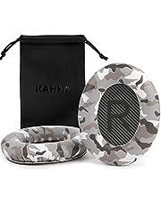 Kahha On-Ear Headphones Replacement Ear Pads for Bose QuietComfort QC 35 QC 35 ii & QuietComfort QC 15 QC 25 (1 Pair,Dark Grey Camo)