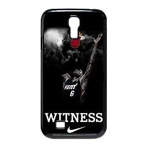 2015 CustomizedNBA Miami Heat star LeBron James Samsung Galaxy S4 I9500 Case Durable Case Cover