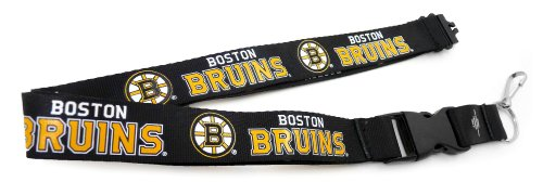 Bruins Lanyard - Boston Bruins Deluxe Breakaway Lanyard