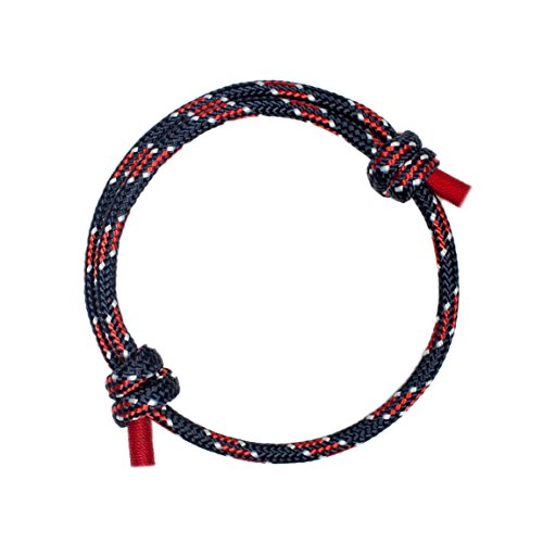 Wind Passion Stylish Braided Nautical Bracelet for Men]()