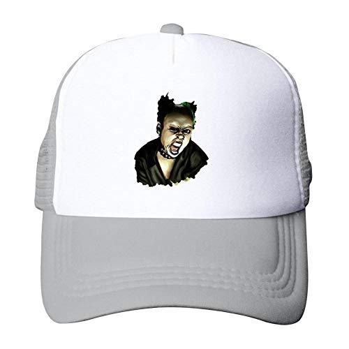Brniogn Adult Hip Hop Mesh Hats Painting Keit-h Flin-t Singer Art Printed Basketball Sport Trucker Snapback Cap -