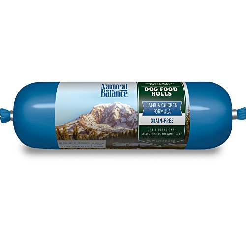 Natural Balance Lamb & Chicken Formula Dog Food Roll, 2.25 lb (Formula Dog Food Roll)