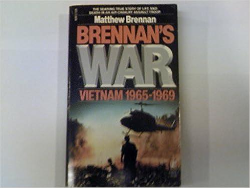Book Brennan's War: Vietnam 1965-1969