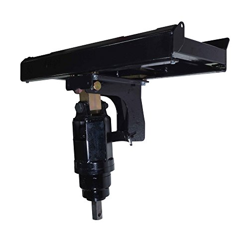 Titan Attachments Skid Steer Auger Frame & Bracket Post Hole Digger w/ 3000 PSI Planetary Drive ()