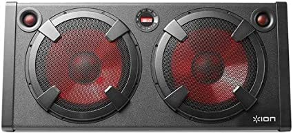 7604e2fdd ION Audio Road Warrior - 500-Watt Portable Bluetooth Stereo Speaker System  with Twin Lighted