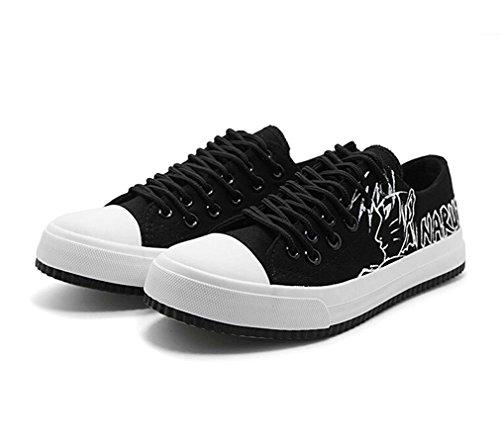 Bromeo Naruto Unisex Segeltuch Low-Top Sneaker Trainer Schuhe