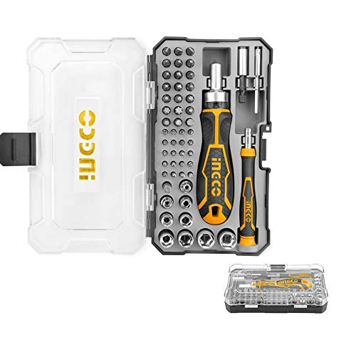 Ingco 55 Pcs Screwdriver Bit Set (HKSDB0558) 1