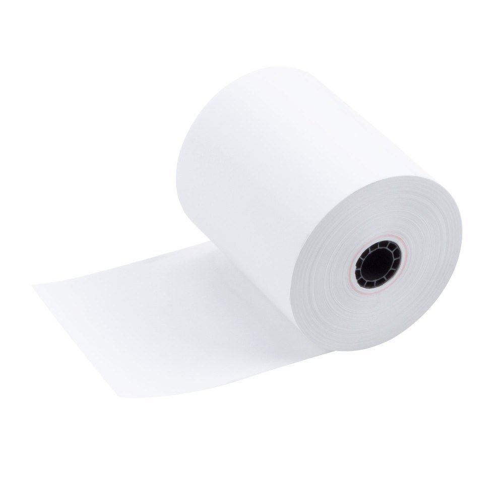 Square POS Register Thermal Receipt Paper Rolls - 3-1/8 inches x 230ft - Made in USA BPA FREE (12 Pack) by Epsilont