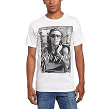FEA Men's Bruce SpringsT-Shirtn B And W Born To Run Mens T-Shirt