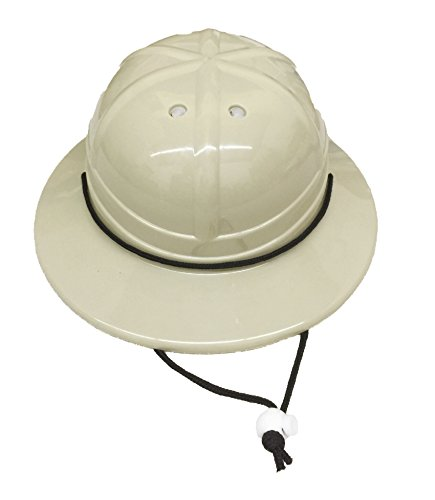GiftExpress Kids' Hard Plastic Safari Pith Helmet (Zookeeper Costume)
