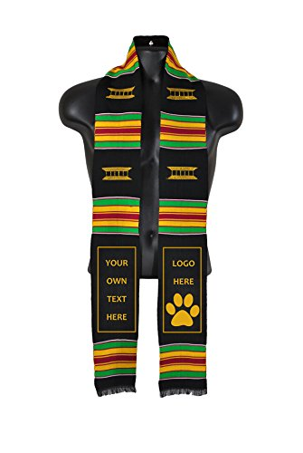 make-your-own-custom-diy-kente-cloth-graduation-stole-sash-with-our-daily-bread-book-combo-pack