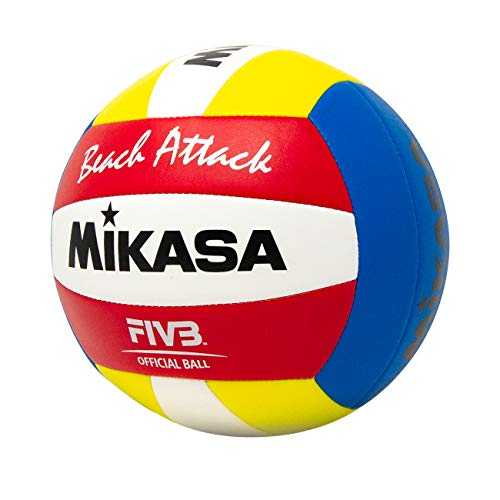 Mikasa Beach Attack Synthetic Leather Volleyball
