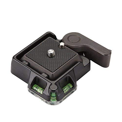 Foto4easy Camera Camcorder Tripod Monopod Ball Head Quick QR Plate
