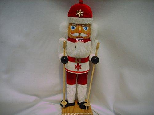 Wooden Nutcracker Christmas Collection Ski 15