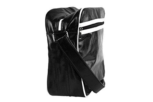 Cartella borsa uomo CARRERA nera bianca messanger con tracolla F464 Barato En Línea Barata Venta Barata Genuina Comprar Barato Disfrutan Gran Venta Precio Barato iEfslD