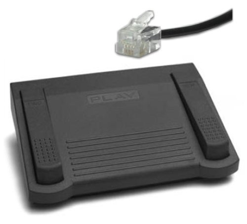 Dictaphone Foot Pedal **TWO (2) YEAR GUARANTEE** Fits Models ending in 40's & 50's with telephone plug